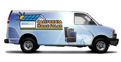 CA Home Solar Van