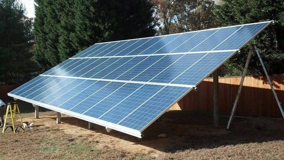 Ground Mount Panels | Los Angeles | California Home Solar