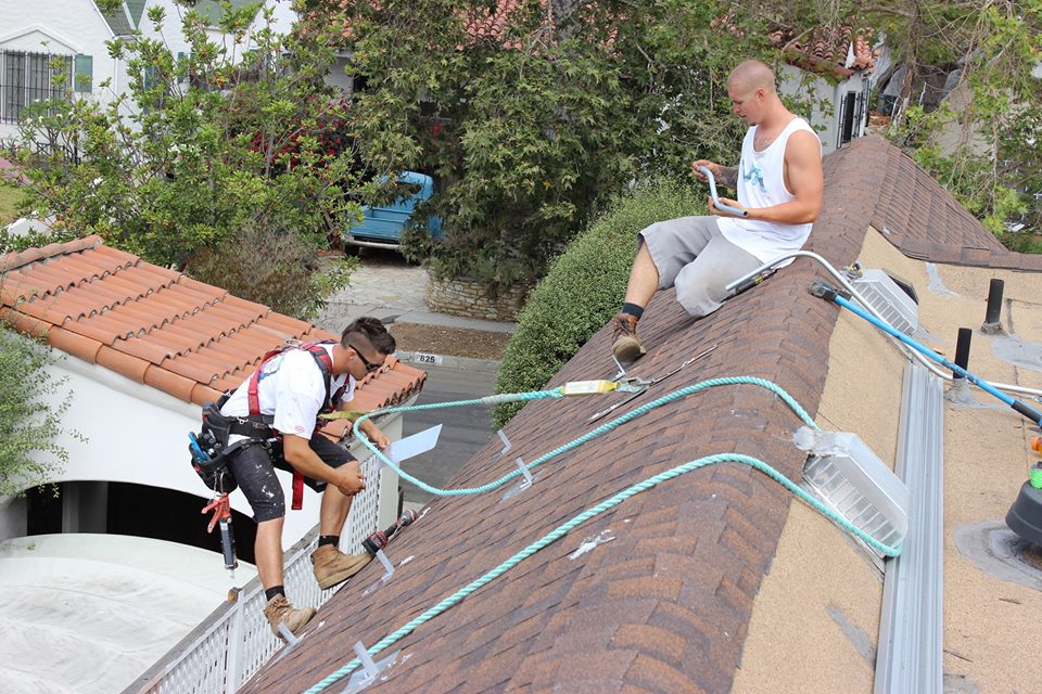 Roofing Work California Home Solar